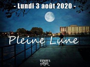 Pleine Lune 3 août 2020