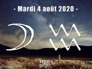 Lune en Verseau (04/08/2020)