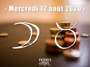 Lune en Taureau (12/08/2020)
