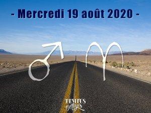 Mars en Bélier (19/08/2020)