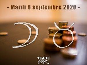 Lune en Taureau (08/09/2020)
