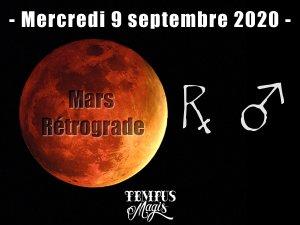 Mars rétrograde (9/09/2020)