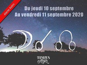 Conjonction Lune / Noeud lunaire Nord (10/09/2020)