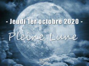 Pleine Lune (1 octobre 2020)