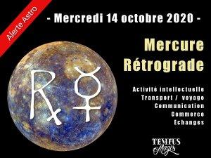 Mercure rétrograde (14/10/2020)
