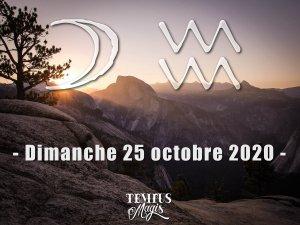 Lune en Verseau (25/10/2020)