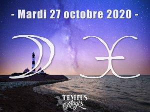 Lune en Poissons (27/10/2020)