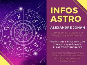 Lettre d'informations astrologiques du lundi 26 octobre 2020