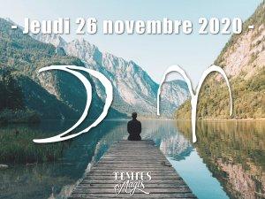 Lune en Bélier (26/11/2020)