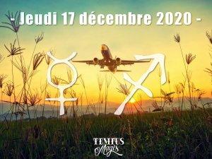 Mercure en Sagittaire (17/12/2020)