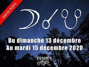 Conjonction Lune / Noeud lunaire Sud (13/12/2020)