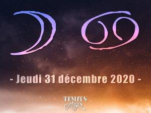 Lune en Cancer (31/12/2020)