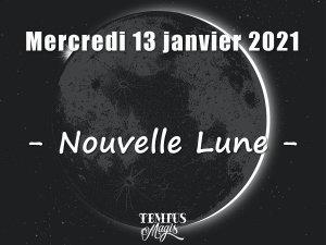 Nouvelle Lune 13 janvier 2021
