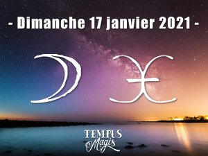 Lune en Poissons (17/01/2021)