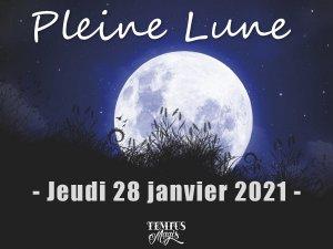 Pleine Lune 28 janvier 2021