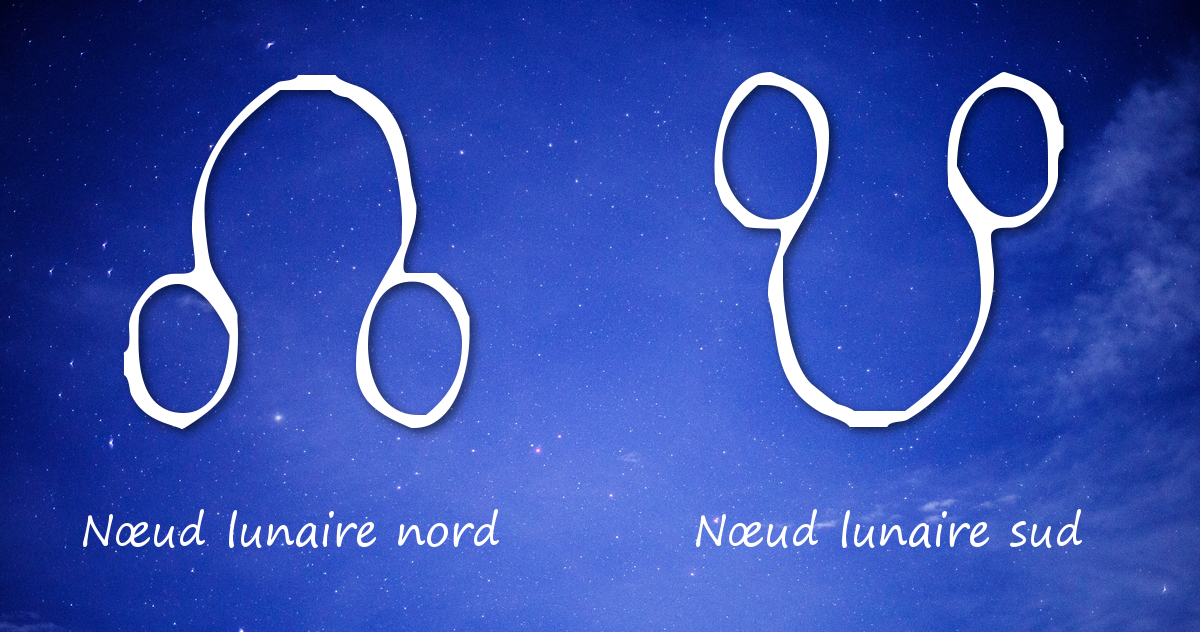 Symboles des noeuds lunaires