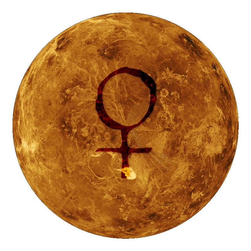 Vénus dans le thème astral